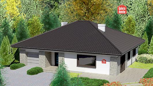 Projekt domu - Dom przy Słonecznej 5 bis