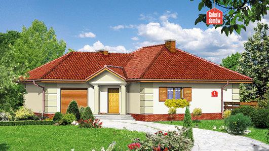 Projekt domu - Dom przy Bajecznej