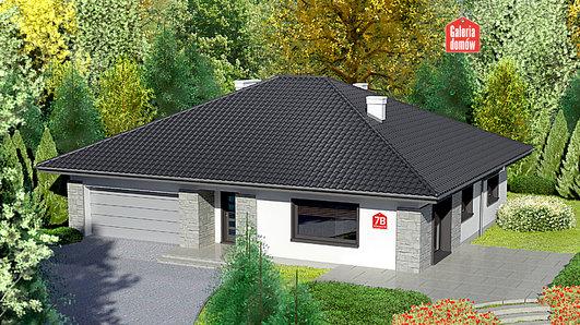 Projekt domu - Dom przy Słonecznej 7 bis