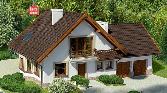 Projekt domu - Dom przy Cyprysowej 37