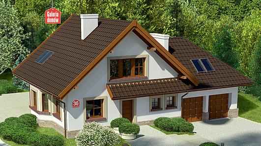 Projekt domu - Dom przy Cyprysowej 38