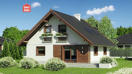 Projekt domu - Dom przy Cytrynowej