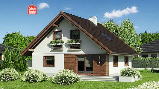 Projekt domu - Dom przy Cytrynowej 3