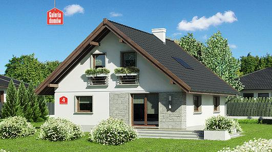 Projekt domu - Dom przy Cytrynowej 4
