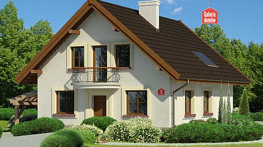 Projekt domu - Dom przy Pomarańczowej