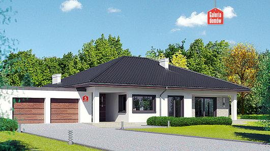 Projekt domu - Dom przy Makowej 5 bis