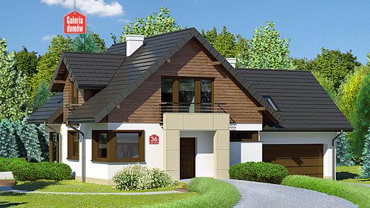 Projekt domu - Dom przy Cyprysowej 36