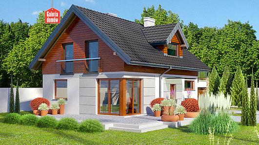 Projekt domu - Dom przy Alabastrowej 27