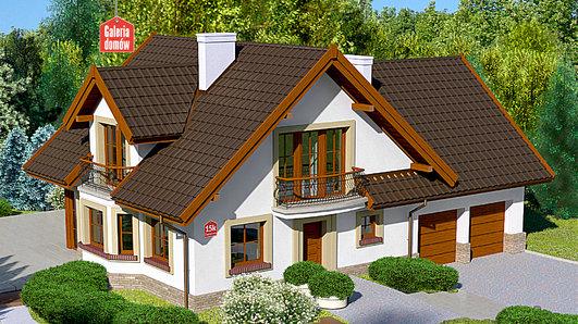 Projekt domu - Dom przy Cyprysowej 15 K