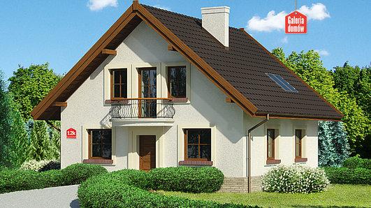 Projekt domu - Dom przy Cyprysowej 12 K