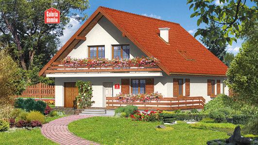 Projekt domu - Dom przy Wiązowej