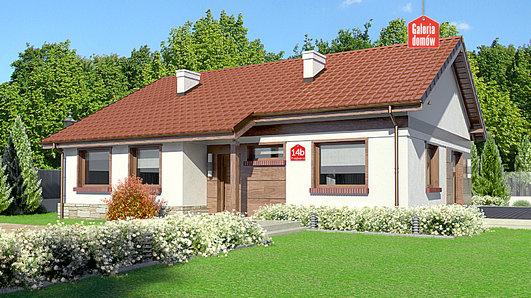 Projekt domu - Dom przy Przyjemnej 14 bis