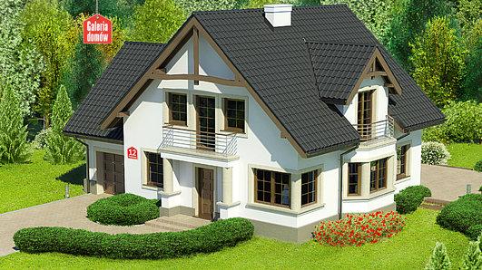 Projekt domu - Dom przy Przyjaznej 12