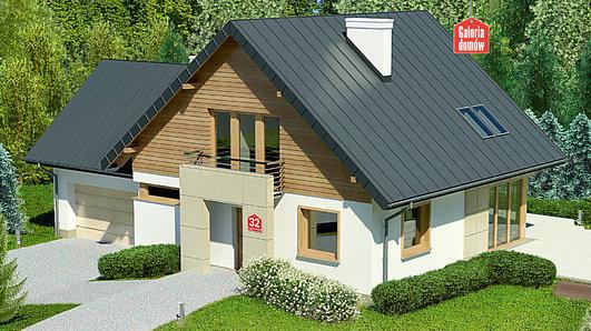Projekt domu - Dom przy Cyprysowej 32