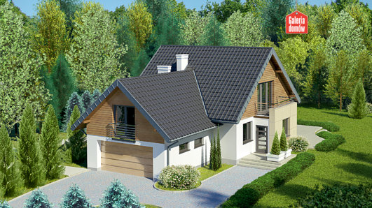 Projekt domu - Dom przy Cyprysowej 41