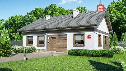 Projekt domu - Dom przy Przyjemnej 16 bis