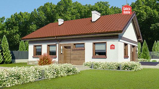 Projekt domu - Dom przy Przyjemnej 15 bis