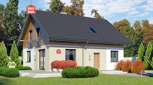 Projekt domu - Dom przy Alabastrowej 29