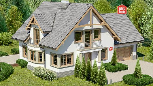 Projekt domu - Dom przy Przyjaznej 11