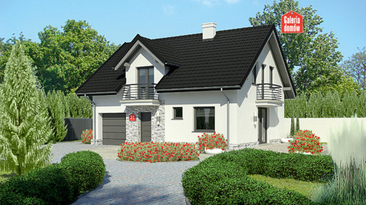 Projekt domu - Dom przy Alabastrowej 31