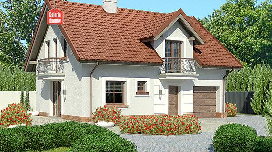 Projekt domu - Dom przy Alabastrowej 32