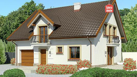 Projekt domu - Dom przy Alabastrowej 35