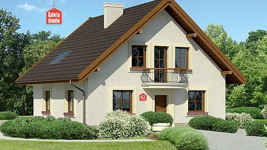 Projekt domu - Dom przy Cyprysowej 42