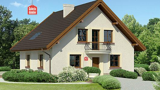 Projekt domu - Dom przy Cyprysowej 43