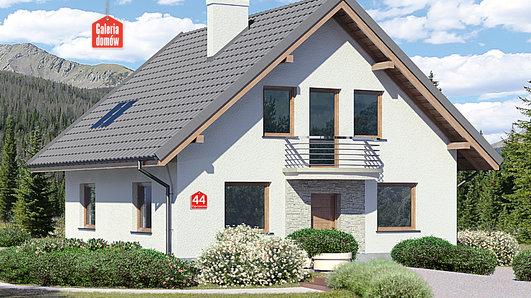 Projekt domu - Dom przy Cyprysowej 44