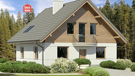 Projekt domu - Dom przy Cyprysowej 45
