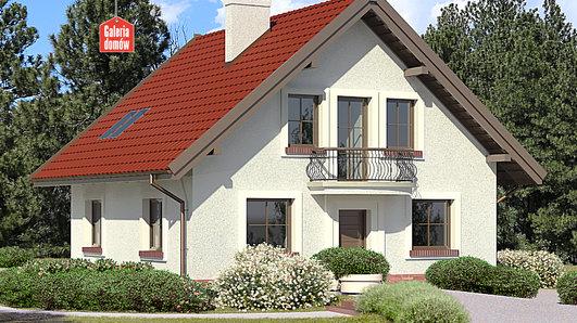 Projekt domu - Dom przy Cyprysowej 46
