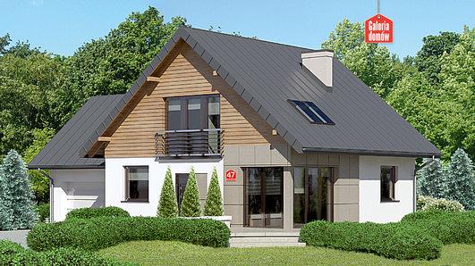 Projekt domu - Dom przy Cyprysowej 47