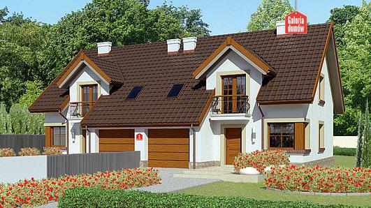 Projekt domu - Dom przy Amarantowej