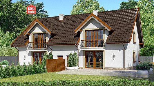 Projekt domu - Dom przy Amarantowej 2