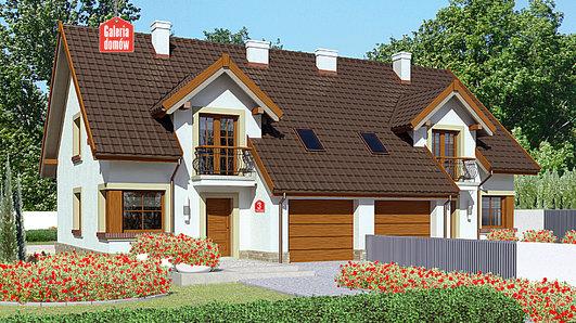Projekt domu - Dom przy Amarantowej 3