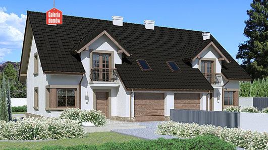 Projekt domu - Dom przy Amarantowej 4