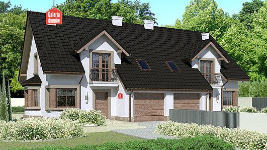 Projekt domu - Dom przy Amarantowej 5