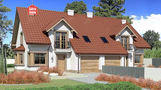 Projekt domu - Dom przy Amarantowej 6