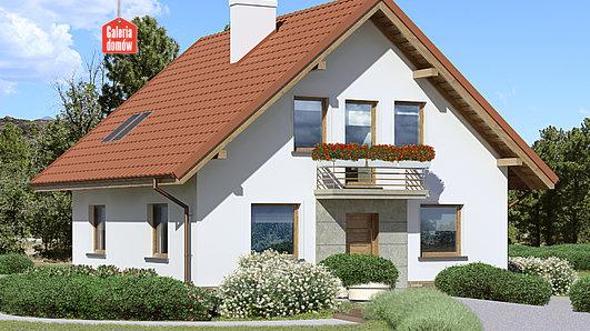 Projekt domu - Dom przy Cyprysowej 48