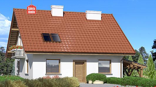 Projekt domu - Dom przy Cyprysowej 49