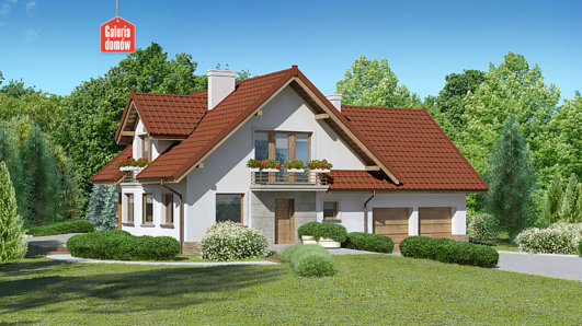 Projekt domu - Dom przy Cyprysowej 51