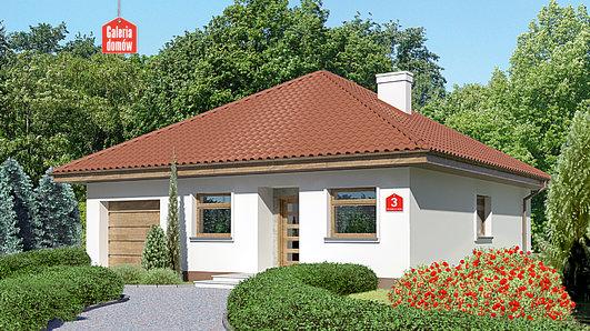 Projekt domu - Dom przy Niezapominajek 3