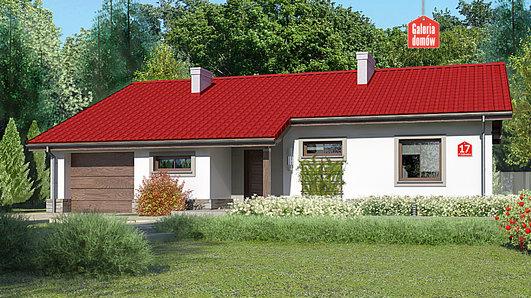 Projekt domu - Dom przy Przyjemnej 17