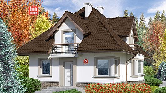 Projekt domu - Dom przy Sielskiej 5