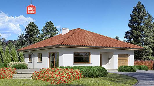 Projekt domu - Dom przy Słonecznej 8
