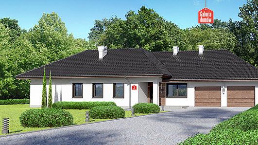 Projekt domu - Dom przy Parkowej 2