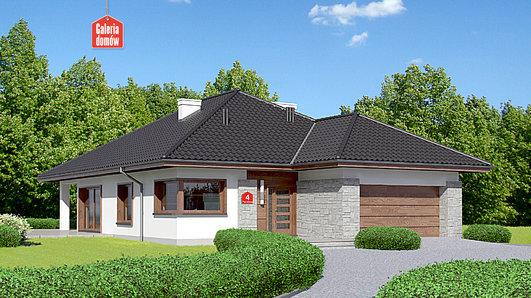 Projekt domu - Dom przy Pastelowej 4 bis