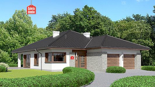 Projekt domu - Dom przy Pastelowej 5