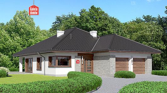 Projekt domu - Dom przy Pastelowej 5 bis