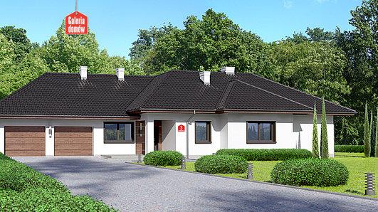 Projekt domu - Dom przy Parkowej 3